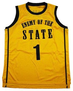MEN WOMEN nennen Gewohnheit jede beliebige Anzahl KIDS Younth individuelle XXS-6XL Staatsfeind Basketball Jersey