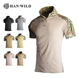 HAN WILD Camouflage Hunting Clothes Tactical Frog Suits High Elasticity Military Uniform Paintball Airsoft Sniper Combat Shirt