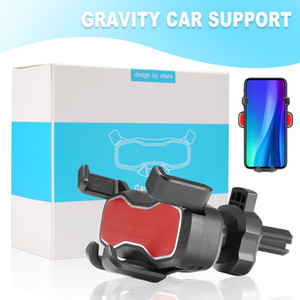 Perakende Box ile Evrensel Araç Montaj Yerçekimi Cep telefonu Sahipleri Ayarlanabilir Araç Tutucu GPS Inavigation Araç Telefonu Tutucu