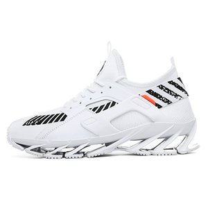 2020 Fashion Blade Sneakers Men's Large Size Breathable Small Coconut Running Shoes Casual Net Red White Shoes Fashion Dad