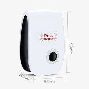 Nouvelle vente à ultrasons électronique antiparasite respectueux de l'environnement et sécurité Accueil Pest Reject gratuite DHL Livraison 30pcs