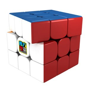 MoYu MF RS3M 3x3x3 Magnetic Cube Magic Cube V3 Black or Stickerless MF3RS3 M Mofangjiaoshi 3Layer Puzzle Cube Toys For Children