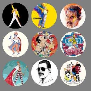 Nengdou T18 Freddie Mercury Pins e spille per le donne del mestiere di DIY Zaino Icone Metal Badge per i vestiti e cappello Ventilatori da regalo