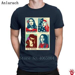 Biz Erkekler Yaz Yeni Moda Tee Gömlek için insanlar T Gömlek Boş Streetwear Euro Boyut S-3XL T Shirt Hiphop İlginç Tops