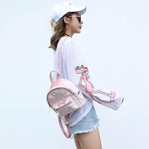 Pink Female Mini Bookbag Small Cute Backpack For School Kawaii Girls Back Velvet Backpacks Women Pvtsm Pack Lurvd