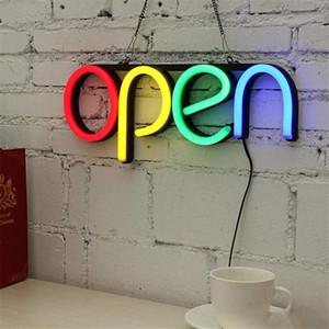 AÇIK Tasarım Bar İmza neon Manuel Görsel Sanat Kulübü KTV Duvar Dekorasyon Ticari Aydınlatma Renk Neon Işık Ampul LED