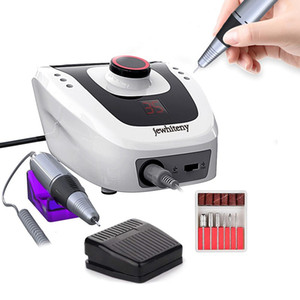 35000 20000 RPM Pro Electric Nail Drill Machine Apparatus for Manicure Pedicure with Cutter Nail Drill Art Machine Kit Nail Tool