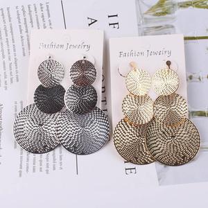 Long gold Silver Clip on Earrings For Women Vintage Earrings Without Piercing for Girls Kid Party Ear Clip