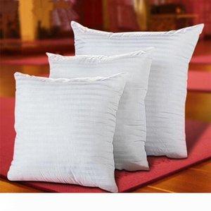 Denizkızı Yastıklar PP Pamuk Doldurulmuş sihirli yüz Yastık Çekirdek Polyester çizgili için Squre Yastık Çekirdek ekler Ev Tekstil 45 * 45cm HS06 Kapaklar