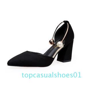 Las nuevas mujeres de la bomba de alta Gladiador plataforma del talón grueso de banda elástica de punta abierta de boda de la plataforma de las señoras zapatos de la sandalia Zapatos t01 Mujer1