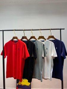 2020 USA mulheres e homens casuais coreano T mulheres camisetas de manga curta sensação de conforto do algodão verão materiais de nível superior detalhe perfeito tshirts