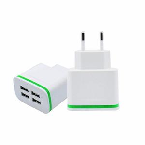 Travel Power Adapter ricarica rapida 4A 5V caricabatterie rapido da parete 4 porte un caricatore USB per iPhone Samsung tutti i smartphone di marca