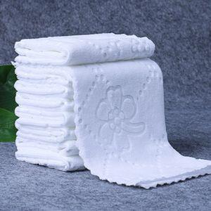 25 * 25 centímetros da tabela do casamento guardanapos Printing Home Kitchen Pattern Tea toalha absorvente Dish Cocktail Limpeza Toalhas Guardanapo