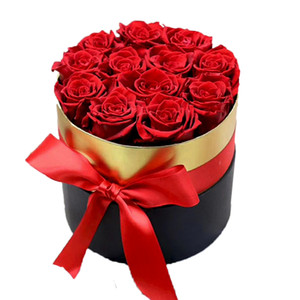 Atacado Infinito Rose Home Decor Presentes Valentine Preserved Rose Flor Para Sempre Eterna Rosa