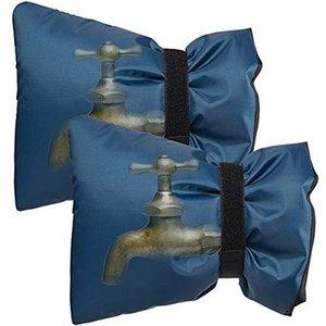 2PCS кран Крышка для теплого Covers зима водонепроницаемого крана носки Защиты от замерзания многоразового Открытого сада