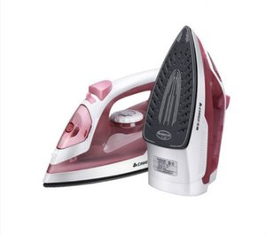 220V 1400w Steam Spray electric iron 230ml water tank 5 gears temperature control automatic to clean Nano ceramic bottom plate