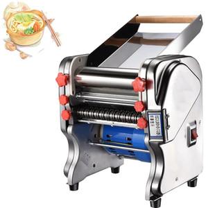 elettrica Macchina per la pasta in acciaio inox Noodles macchina a rulli per la casa Ristorante Commercial Press Noodle Maker