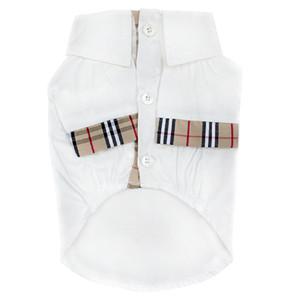 All Seasons Klassische Streifen-Haustier-Hemden Mode Persönlichkeit Muster Haustiere T-shirts Gezeiten kühlen Stil Schnauzer Coats