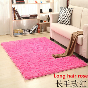 Non-slip furry area carpet restaurant home bedroom carpet living room carpet floor yoga mat free shipping SZ541