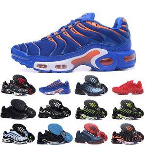2020 Nike Air Max Tn Shoes New Airmax Tn Plus Chaussures Hommes Noir Blanc Air TN Sport Plus Ultra Running Shoes Cheap Tns Runner Chaussures Réquin originale de basket-ball