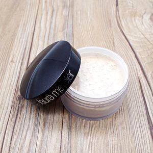 HOT Loose Powder Oil Control Einstellung Makeup Datum Black Box Bare Mineral Laura Mercier Powder 3 Farben imprägniern Gesichtspuder Concealer
