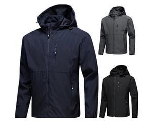 Nuevas camisas de diseñador chaquetas rompevientos de manga larga de los hombres de la cremallera impermeable Windrunner cara norte chaqueta con capucha abrigos ropa
