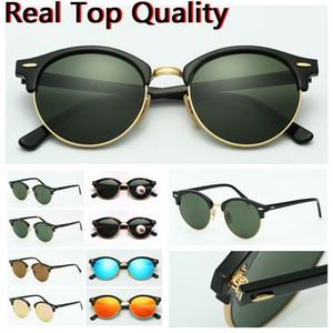 الرجال النظارات الشمسية ذات جودة عالية أزياء النظارات الشمسية فوق البنفسجية عدسات حماية للمرأة رجل مع حقيبة جلد، قماش، وصناديق، كل شيء!