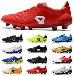 En ucuz 2019 Yeni Erkek Deri Futbol Cleats Düşük Ayak Bileği Morelia Neo II FG Futbol Ayakkabıları Dünya Kupası Erkek Açık Futbol Ayakkabıları Ücretsiz nakliye