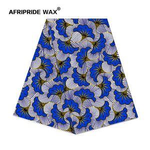 2019 africano Ancara alta qualidade tecido tecido grosso africano flor 100% algodão verdadeira cera de brocado para A18F0497 roupas