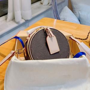 Handtaschen Portemonnaie Umhängetaschen Runde Tasche Mini-Tasche Damen Schultertasche Applikationen Alte Blumen-Beutel-freies Verschiffen Schultergurt