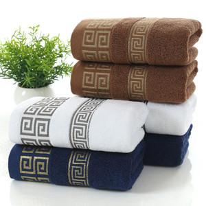 140x70 cm Morbido Cotone viso asciugamano asciugamani da bagno telo mare per adulti spugna assorbente di lusso Mano Viso copriletto Adulto Uomini Donne di base asciugamani