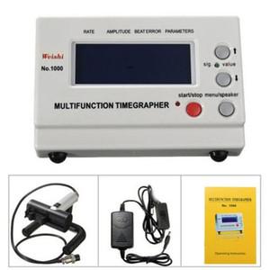 Weishi No.1000 multifuncional sincronización Profesional Timegrapher reloj mecánico del probador de los talleres de reparación y aficionados herramientas del reloj
