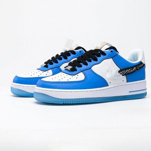 The new men's and women's low-top 1 casual shoes, sports shoes, high-quality comfortable shoes are customized for male and female friends. S