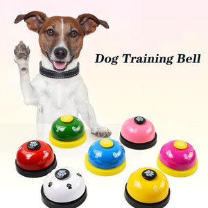 Dog Training Sino Potty Training Bell para o cãe Doorbells Dog Training Equipment engraçado Chamado Pet atendimento Bell Jantar