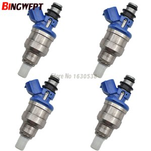 4 ADET 195500-1970 F02Z9F593B MB6S713250 B6S713250 Mazda MX3 MX5 MIATA için 626 929 MX6 1.6L 2.2L yakıt enjektörü