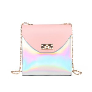Women's mobile phone bag 2020 Korean version of the sweet lady new shoulder bag chain coin purse messenger
