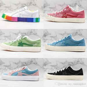 New Tyler Mens Shoes Casual Shoes The Creator One Star Golf Le Fleur TTC Solar Sneakers Canvas Shoes
