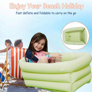 Kids Inflatable Pool Inflatable Children Swim Ocean Ball Pool Summer Rectangle Garden Party Playing Water Swimming