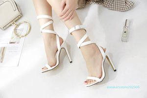 New sexy stiletto high heels summer sandals suede leather open rhinestone women prom shoes sapatos femininos s06