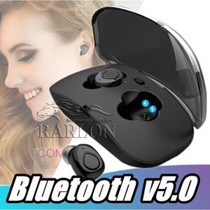 Hot Sale Bluetooth 5.0 X18 Wireless Headphones Mini Suporte Earbuds janela pop-up com carregamento Caso VS i12 Tws i11 i10 i9s