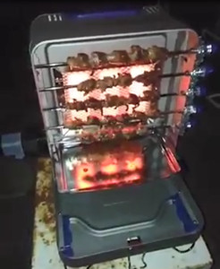 가정용 및 상업용 가스 케밥 메이커, 작은 샤와 기계, homehold 케밥 기계