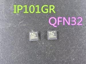 10pcs / lot de nouveaux circuits intégrés IP101GR IP101 émetteur-récepteur QFN32 en stock Livraison gratuite