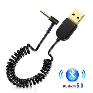 USB Bluetooth 5.0 приемник стерео беспроводной адаптер 3,5 мм разъем Aux Bluetooth аудио приемник музыка автомобильный комплект передатчик микрофон