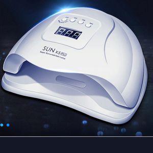 Nail Осушитель Led Ультрафиолетовый свет для гелевых ногтей Sum X5 Plus машина ВС X5 Ув Led лампы Розовый Профессиональный набор Сушилка лампы Рождество 110w HIAISB