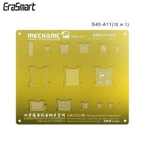 Mechanic Golden 3d Bga Reballing Stencils Cpu A11 3d Steel Mesh