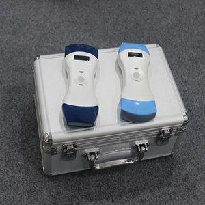128 элементов PW цвет беспроводной ультразвуковой выпуклыми и линейный датчик с двойной головкой быстро освобождают перевозку груза DHL