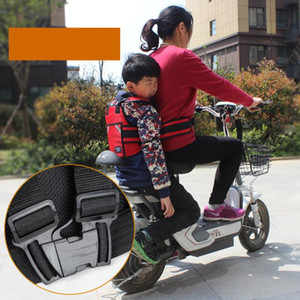 Baby Kids Protective Carrier Passenger Motorbike Safety Belt Scooter Harness Chest Motorcycle Adjustable Front Back Seat Strap