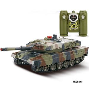1/24 RC Tanque Crawler IR Brinquedos de Controle Remoto Simulação Infravermelho RC Battle Tank Toy Toy RC presentes para crianças brinquedos para meninos