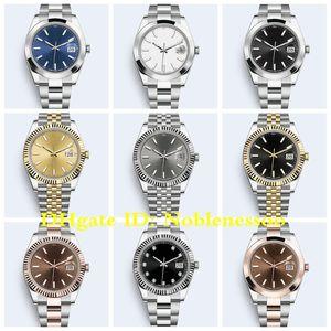 19 Estilo 2020 del reloj caliente de los hombres de 126303 126331 126334 126333 126300 126301 41 mm Oyster pulsera pulsera Jubileo de Asia 2813 relojes automáticos