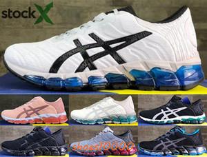 dimensione Sneakers Uomo Nero noi 12 GEL-Quantum 360 uomini Pattini degli addestratori EUR 46 per bambini corridori classici donne bianche d'oro Mocassini di guida in esecuzione